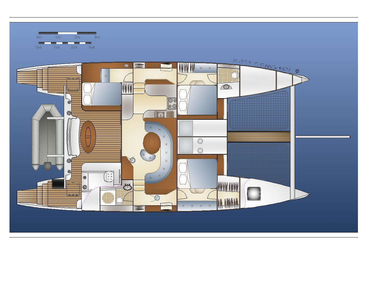 Crowther Design No 591 Interior Plan