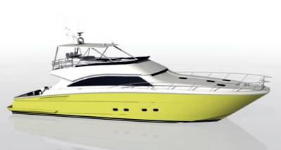 Power Catamaran Yacht