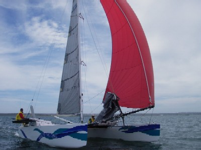 Design SY001 - under spinnaker